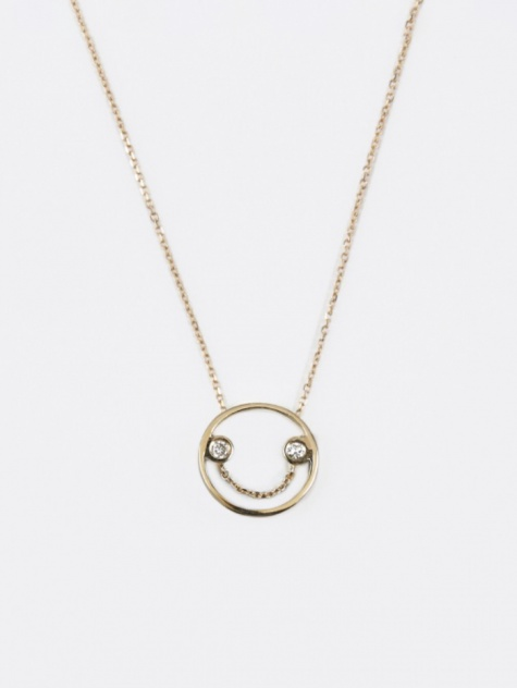 Belle Pendant Necklace - 9K Yellow Gold