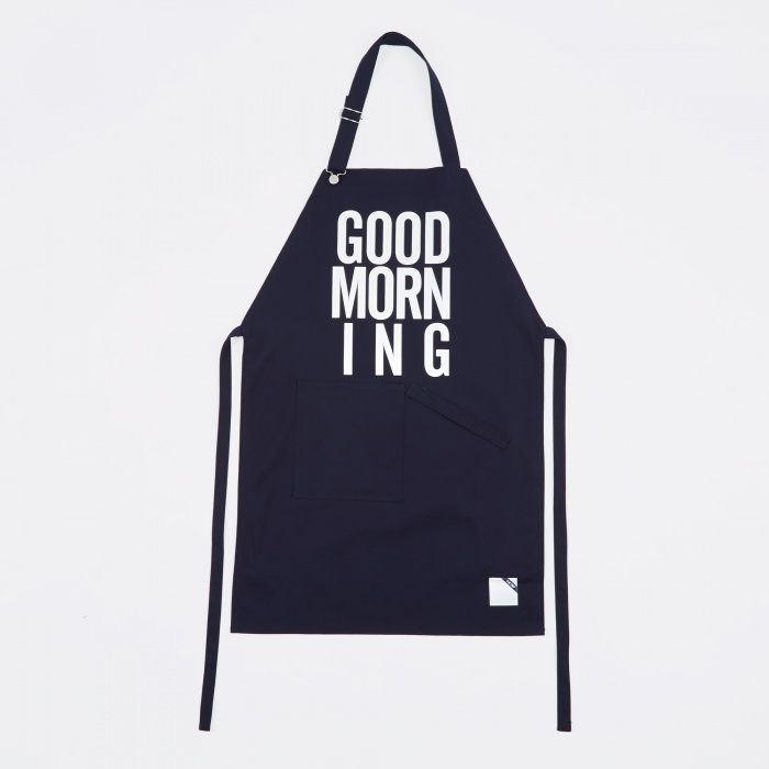 Blue Chip Good Morning Staff Apron - Navy (Image 1)