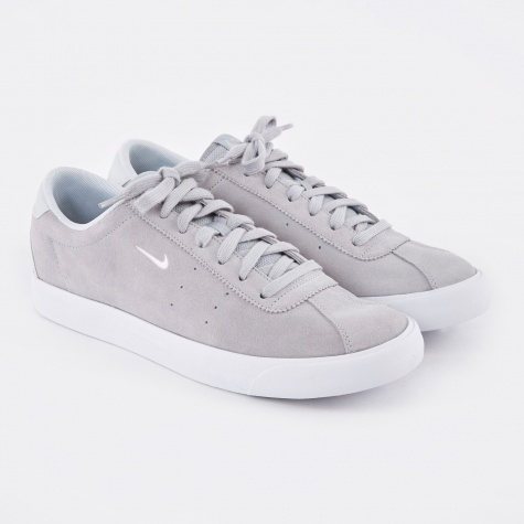 Match Classic Suede Shoe - Wolf Grey/White-Pure Platinum