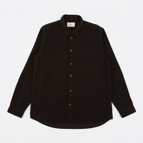 Baby Cord Shirt - Charcoal