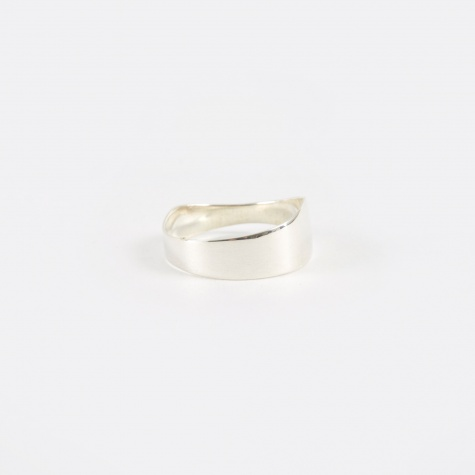 Irregular Band Ring - Silver