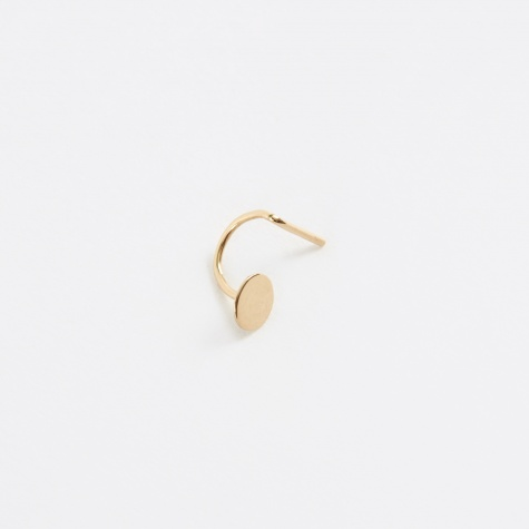 Dot Earring - Yellow Gold