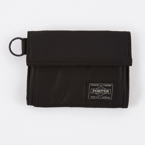 Porter Yoshida & Co. Tanker Wallet A - Black