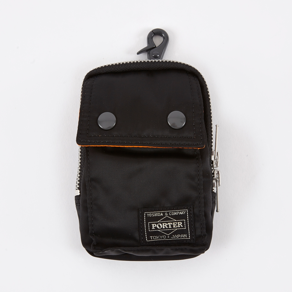Porter yoshida co tanker pouch black for Porte and co