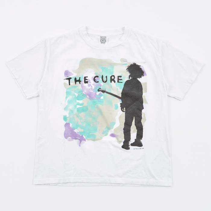 Goodhood x Teejerker The Cure 1986 Boys Don't Cry T-Shirt - White (Image 1)