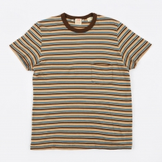 Levi's Vintage Clothing 1960s Casual Stripe T-Shirt - Taos Blue