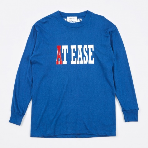70s At Ease L/S T-Shirt - Blue