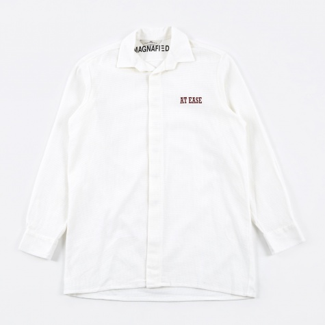 At Ease Butcher Shirt - White