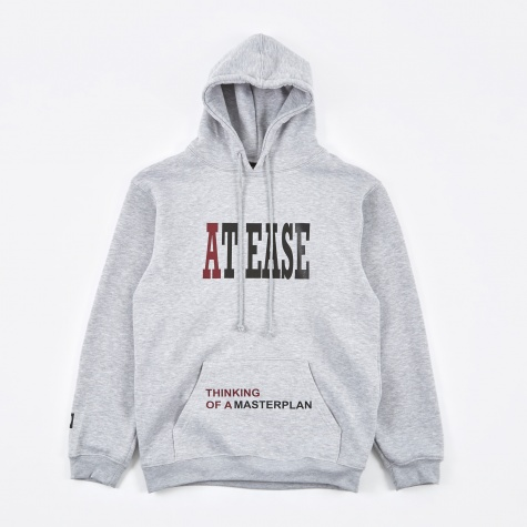 At Ease Thinking Hoodie - Grey