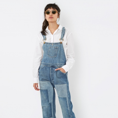 Levis Vintage Clothing Bib And Brace Youth Wear Dungarees - Shar