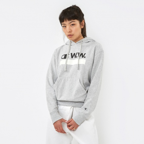 x Champion Hooded Sweat - Grey Melange