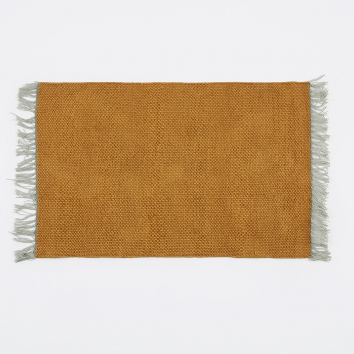Ferm Living Nomad Rug - Curry - Small (Image 1)