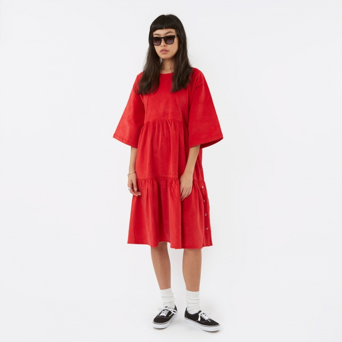 LF Markey Michael Dress - Red (Image 1)