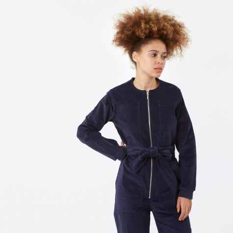Finlay Corduroy Boilersuit - Navy