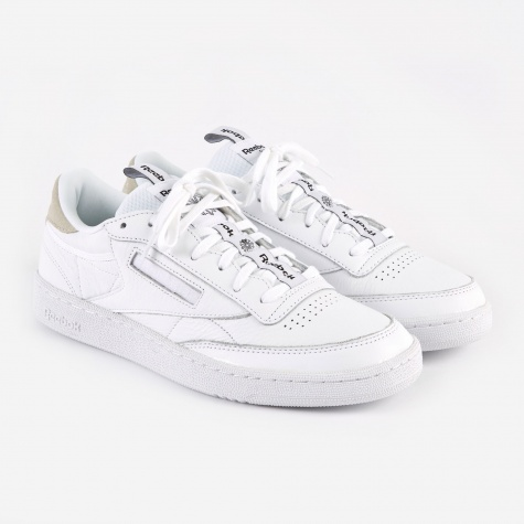 Club C 85 IT - White/Skull Grey/Black