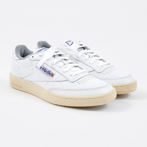 Club C 85 Vintage - White/Reebok Royal/Tin Grey/Sandtrap