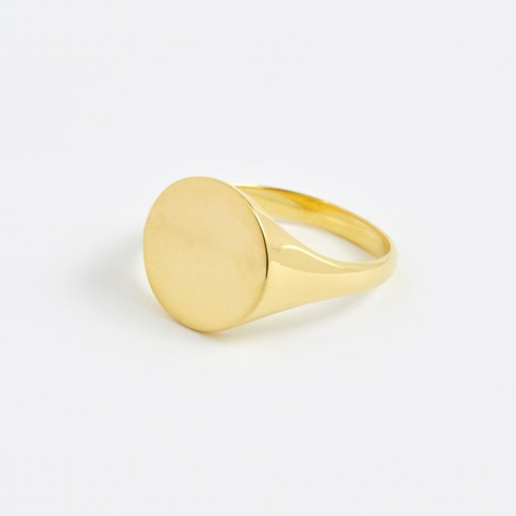 Ready Heart Ring - Polished Gold 14K