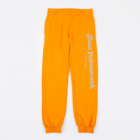Gosha Logo Sweatpant - Orange