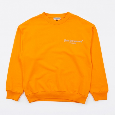 Gosha Logo Sweatshirt - Orange