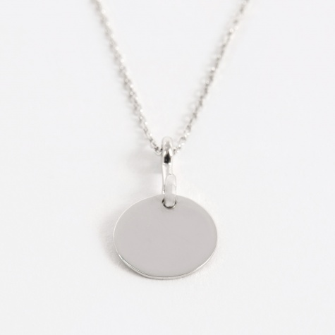 Bell Necklace - Sterling Silver