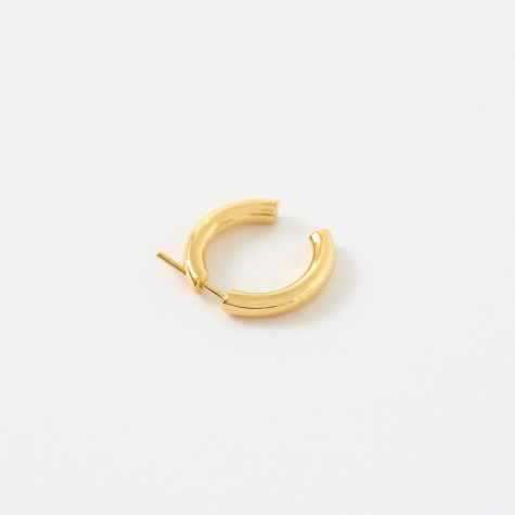 Broken 18 Earring - 14K Gold Plated