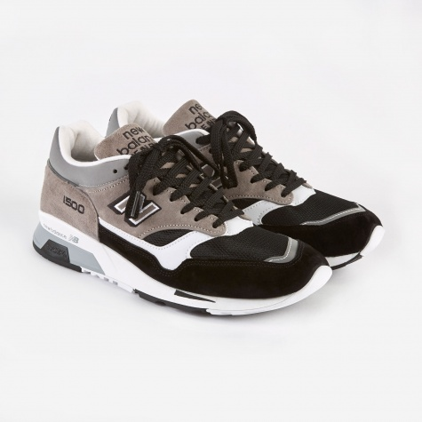 M1500 Made in the UK Shoe - Black/Grey