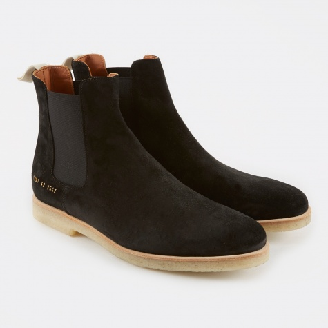 Chelsea Boot Suede - Black
