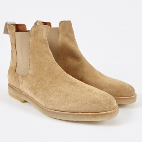 Chelsea Boot Suede - Tan