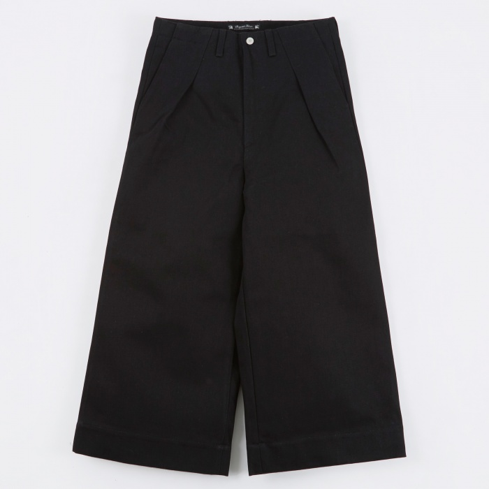 Sasquatchfabrix. Baggy Denim Pants - Black (Image 1)