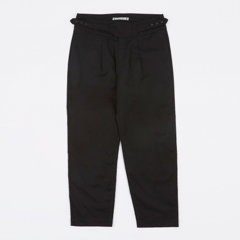 Hi-Waist Trousers - Black