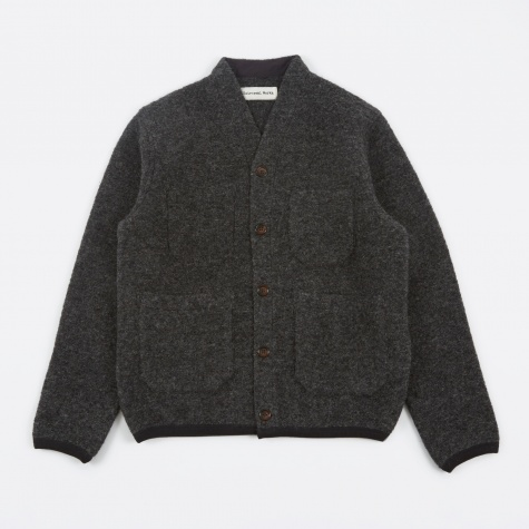 Wool Cardigan - Grey
