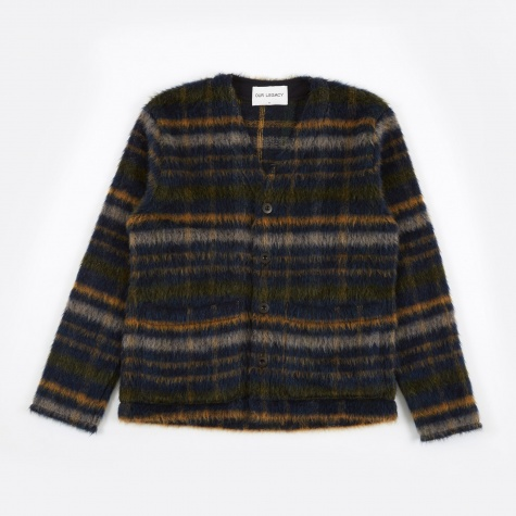Cardigan - Mohair Check