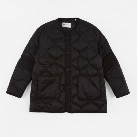 Quilted Liner - Black Parachute Nylon
