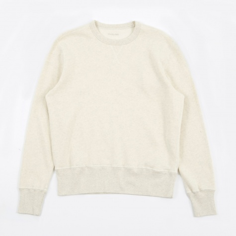 Reversible Sweat - Snow Melange Sweat