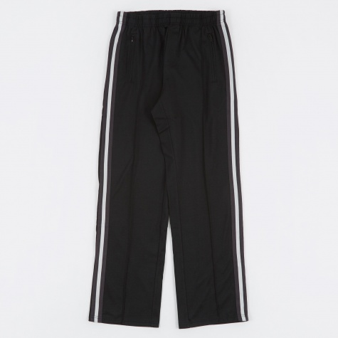Track Pants - Black Poly/Cotton