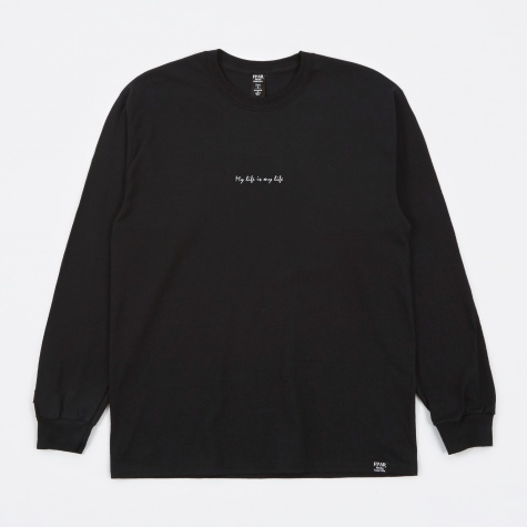My Life Longsleeve T-Shirt - Black