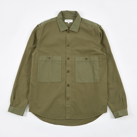 Doc Savage Shirt - Olive