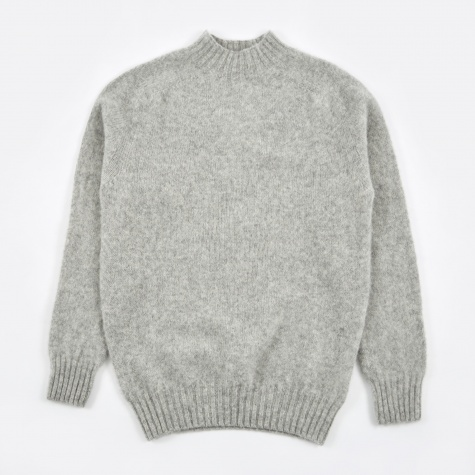 Montand Turtle Neck Knit - Silver