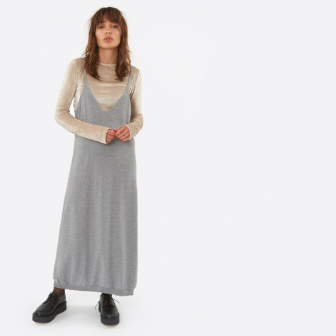 Homoki Dress - Grey Melange