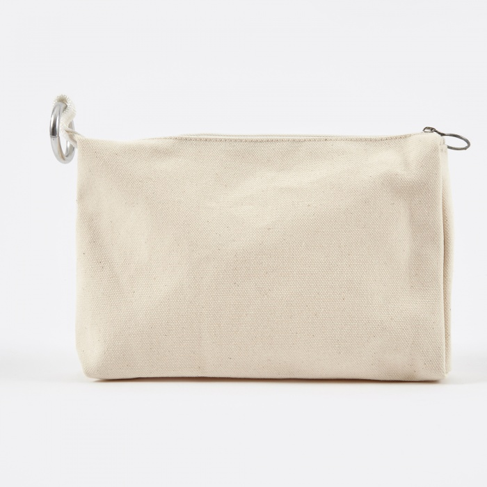 Bag 'N' Noun Canvas Case 'C' - White (Image 1)
