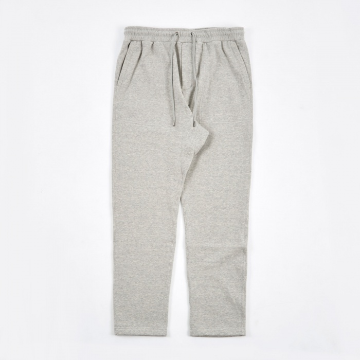 Nanamica French Terry Sweat Pants - Heather Grey (Image 1)