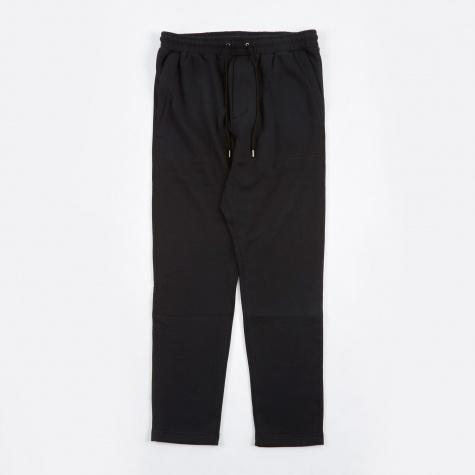 French Terry Sweat Pants - Black