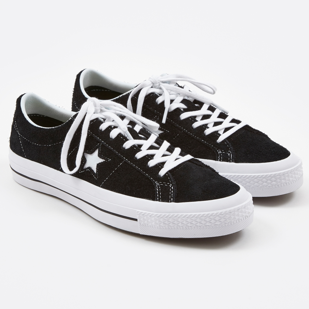 One Direction Black Converse Shoes