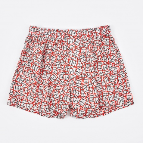 x Have A Good Time Boxer Short - Print