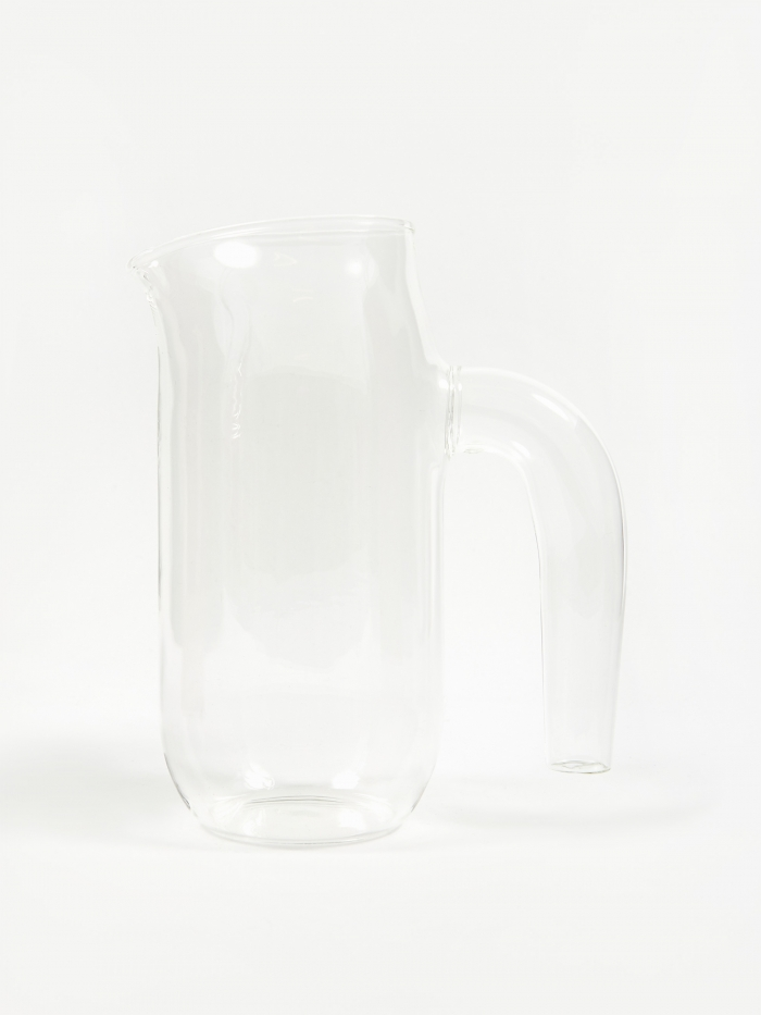 HAY Glass Jug Large - Clear (Image 1)