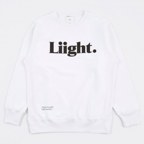 Light Sweat - White