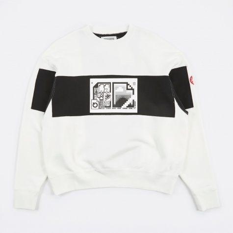 C.E Cav Empt MD Document Crew Neck - White