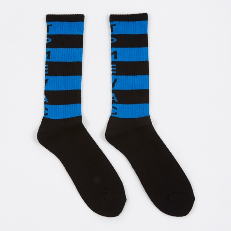 TPMEVAC Stripe Socks - Black