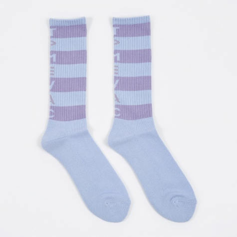 TPMEVAC Stripe Socks - Blue