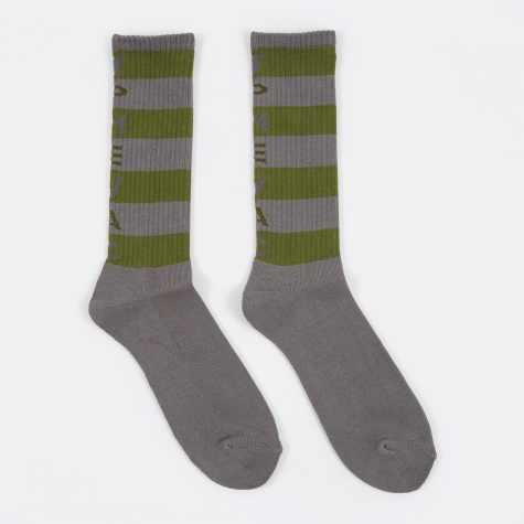 C.E TPMEVAC Stripe Socks - Grey